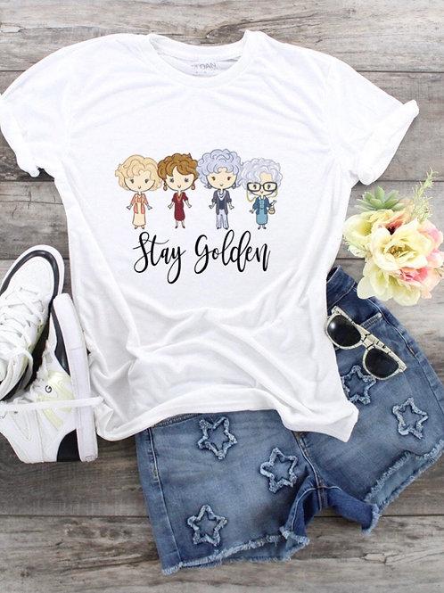 Stay Golden Short Sleeve