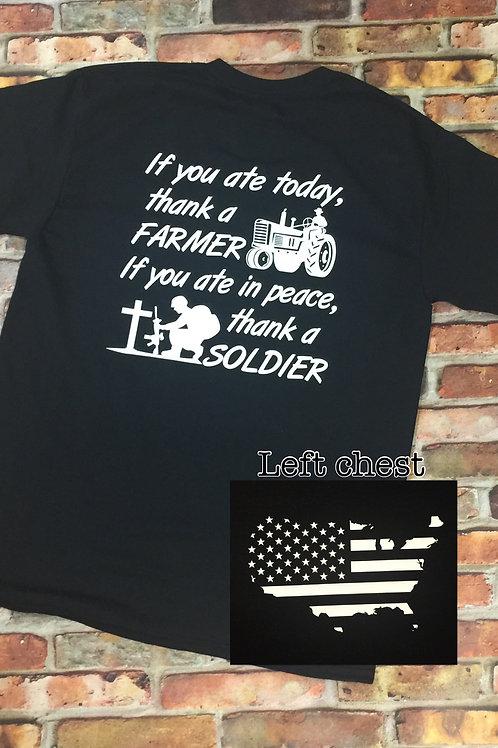 Thank a Soldier/Farmer Long Sleeve