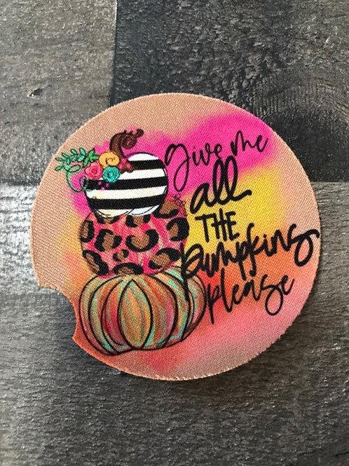 Pumpkin Car Coaster/2