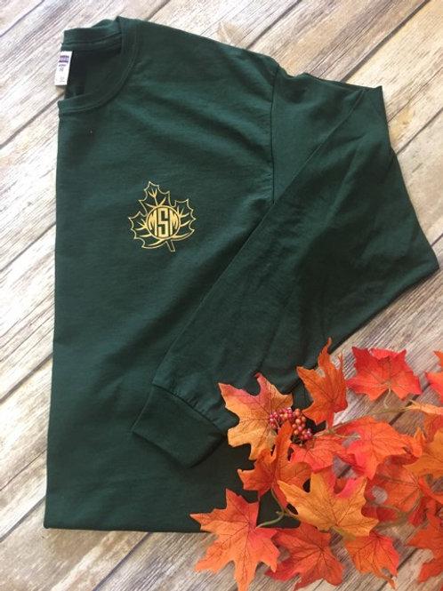 Fall Leaf Mono Long Sleeve