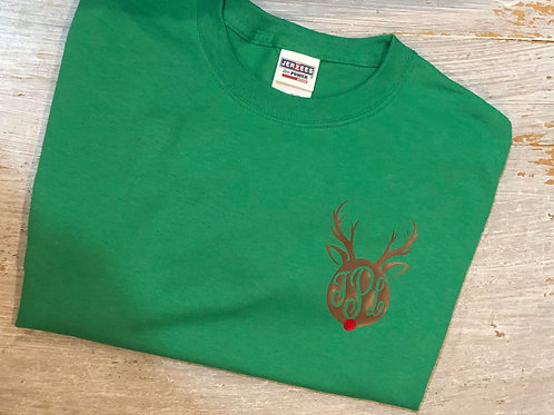 Rudolph Monogram YOUTH Short Sleeve