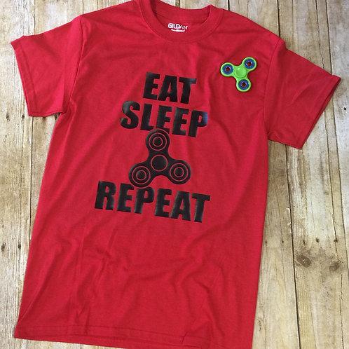 Eat Sleep Repeat (Spinner)