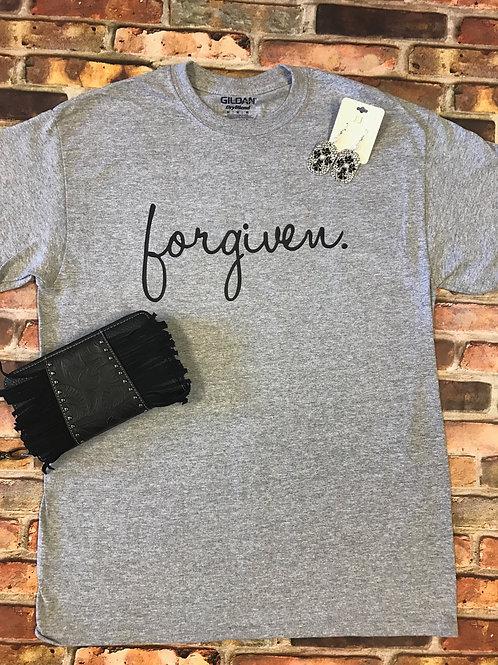 Forgiven.