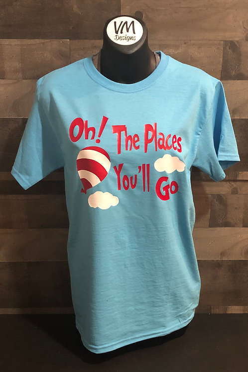 Oh! The Places You'll Go