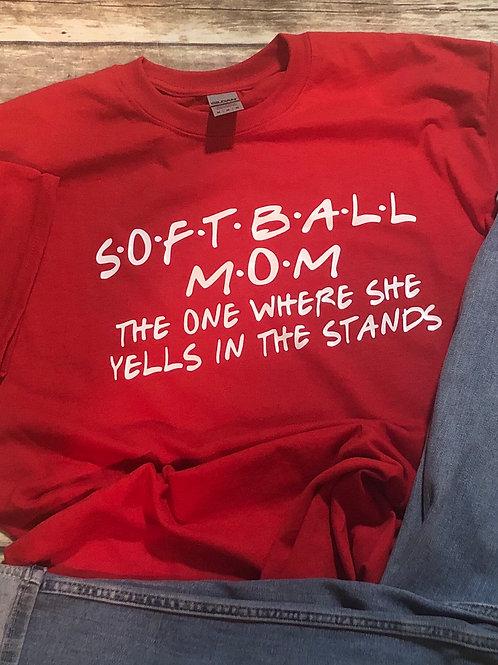 Sports Mom The One where she yells