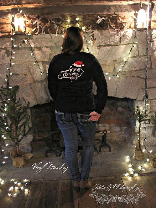 KY Merry Christmas Yall Short Sleeve