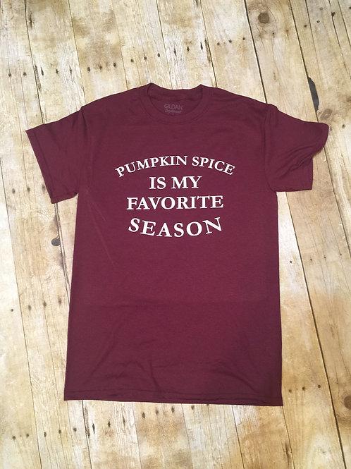 Pumpkin Spice Fav Season Short Sleeve