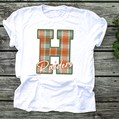 Plaid H Raiders Sweatshirt (Sublimated)