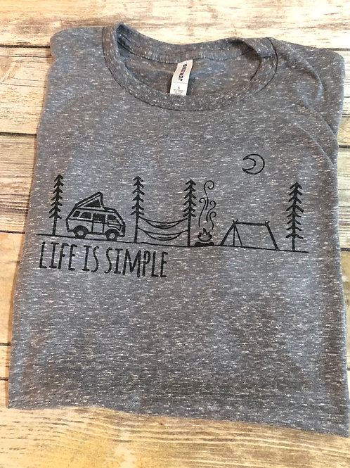 Life is Simple Sublimated