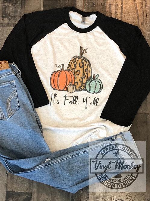 It's Fall Y'all (sub) Raglan