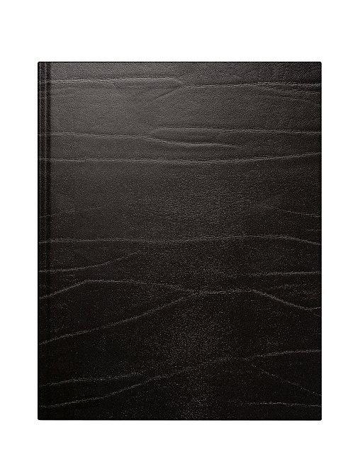 Rido Managerkalender TM 2022 20,5x26cm Modell 24068 - Leder-Einband Schwarz