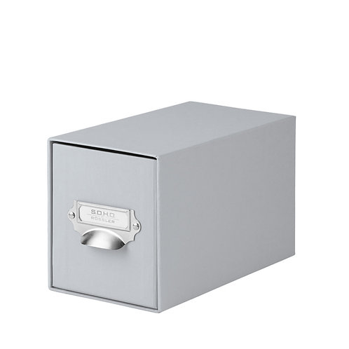 Rössler S.O.H.O. CD-Schubladenbox mit Griff Stone