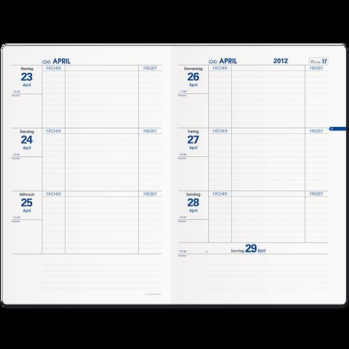Quo Vadis Texthebdo Schuljahr 2021/2022 16x24cm - Kalender-Einlage