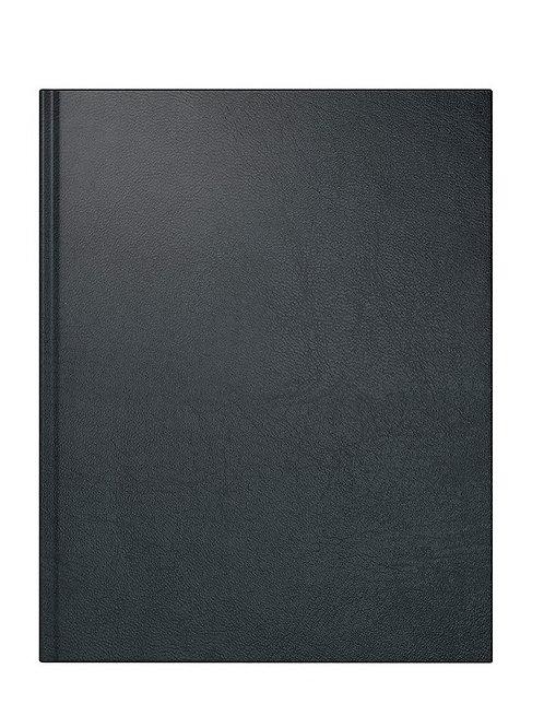 Rido Managerkalender TM 2022 20,5x26cm Modell 24074 - Kunstleder-Einband Schwarz