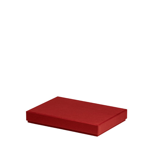 Rössler S.O.H.O. Boxline Kartonage für A5 Rot 4er Satz