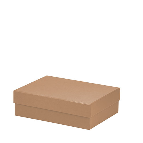 Rössler S.O.H.O. Boxline Kartonage rechteckig 196x264x80mm Kraft 3er Satz