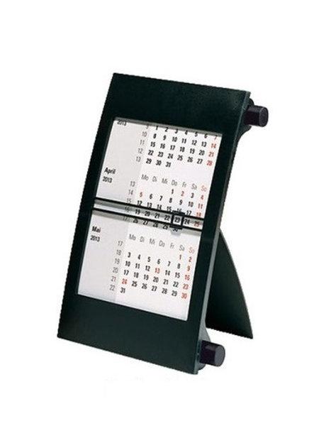 Rido 3-Monatskalender 2022 11x18,3cm Modell 38000 Drehknopf Schwarz