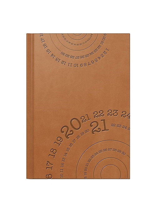 Rido Mentor 2022 14,8x20,8cm Modell 26026 - Kunstleder-Einband Braun