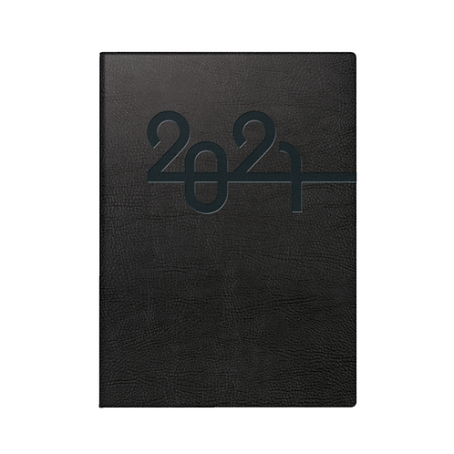 Rido Mentor 2022 14,8x20,8cm Modell 26024 - Kunstleder-Einband Schwarz