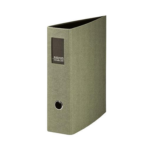 Rössler S.O.H.O. Ordner A4 mit Rückenschild 85mm-Rückenbreite Sage Special Editi