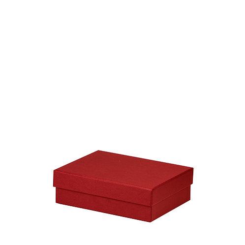 Rössler S.O.H.O. Boxline Kartonage rechteckig 140x190x60mm Rot 3er S