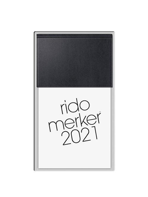 Rido Merker 2022 10,8x20,1cm Modell 35003 Miradur-Einband Schwarz