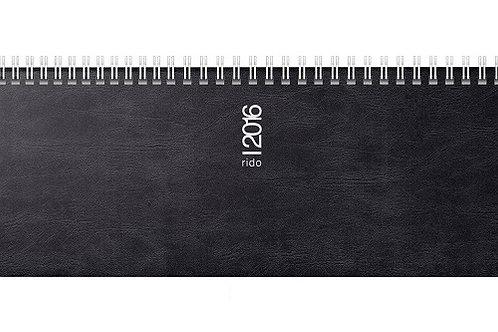 Rido septant 2022 30,5x10,5cm Modell 36142 Schaumfolien-Einband Catana Schwarz