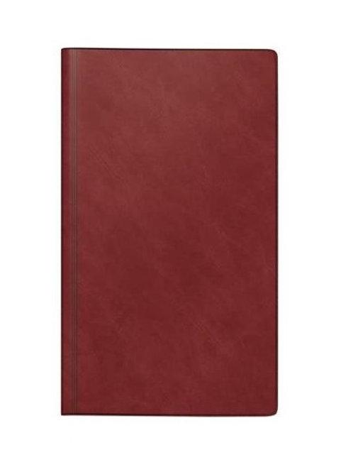 Rido reise-merker 2022 11,3x19,5cm Modell 25012 - Schaumfolien-Einband Bordeaux