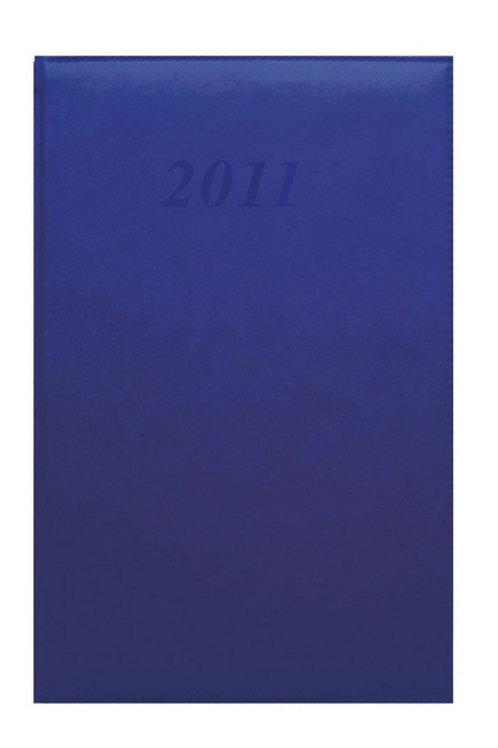 Quo Vadis Daily 24 2022 16x24cm - Brand Blau