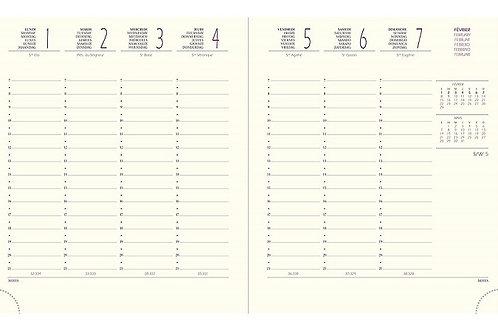 Quo Vadis Eurotime 18 2022 15x17cm - Kalender-Einlage