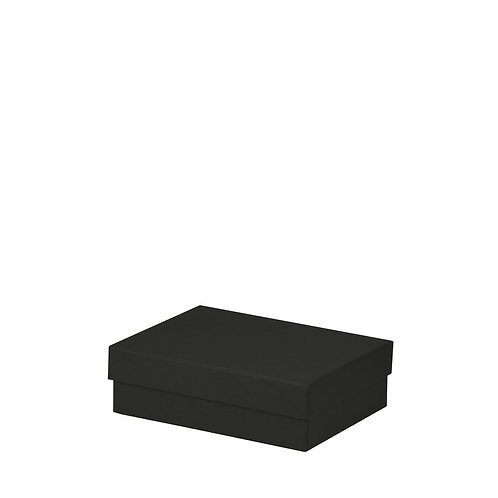 Rössler S.O.H.O. Boxline Kartonage rechteckig 140x190x60mm Schwarz 3er Satz