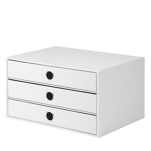 Rössler S.O.H.O. 3er Schubladenbox White Special Edition