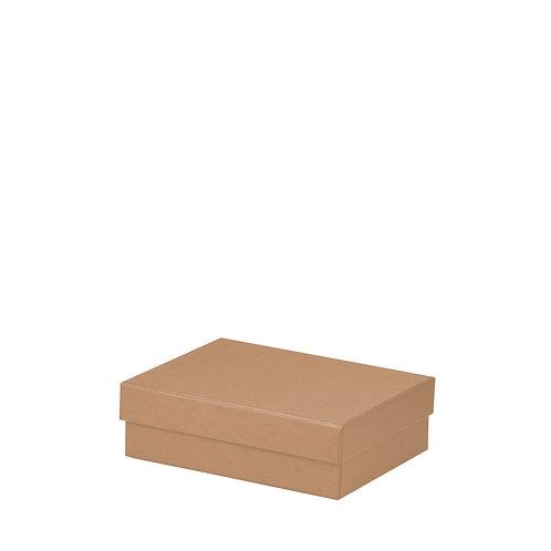 Rössler S.O.H.O. Boxline Kartonage rechteckig 140x190x60mm Kraft 3er Satz
