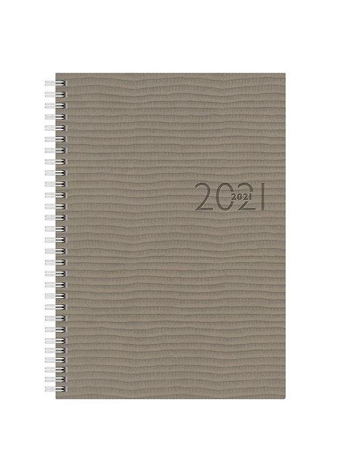 Rido Studioplan int. 2022 16,8x24cm Modell 23036 Kunstleder-Einband Grau