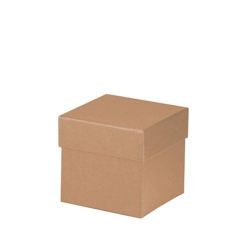 Rössler S.O.H.O. Boxline Kartonage quadratisch 105x105x105mm Kraft 4er Satz