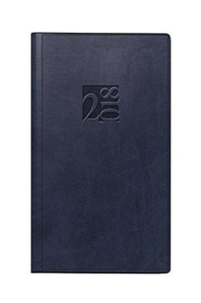Rido Taschenplaner int 2022 8,7x15,3cm Modell 16903 Kunstleder-Einband Schwarz