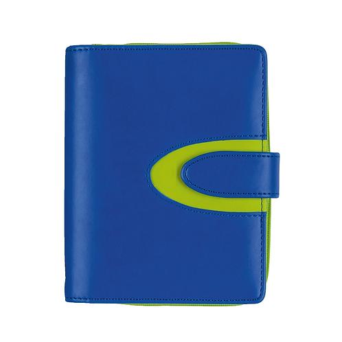 Rido Timing 3 7,6x12,7cm Modell 67042 Kunstleder-Einband Blau