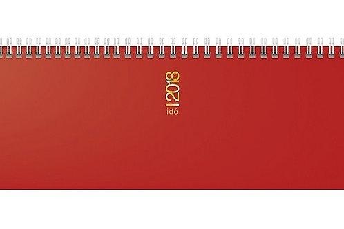 Rido ac 2022 29,7x10,5cm Modell 31302 Hartfolien-Einband Rot