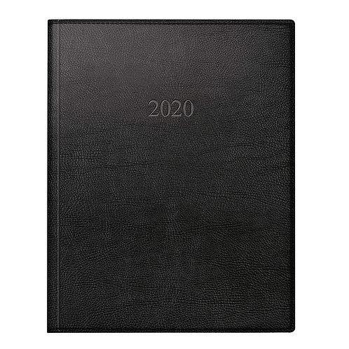 Rido Managerkalender TM 2022 20,5x26cm Modell 24064 - Kunstleder-Einband Schwarz