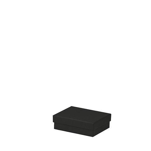 Rössler S.O.H.O. Boxline Kartonage rechteckig 96x128x40mm Schwarz 3er S