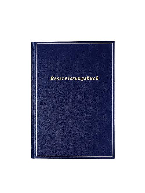 Rido Reservierungsbuch 2022 21x29,7cm Modell 27413 - Balacron-Einband Blau