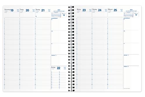Quo Vadis Eurequart 2022 24x30cm - Kalender-Einlage