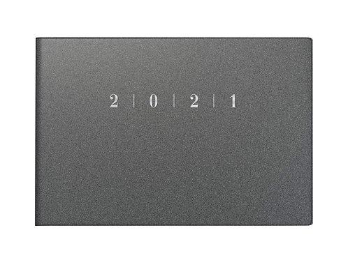 Rido Septimus 2022 15,2x10,2cm Modell 17563 - Kunststoff-Einband Reflection Grau
