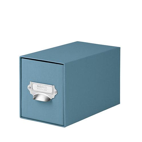 Rössler S.O.H.O. CD-Schubladenbox mit Griff Denim