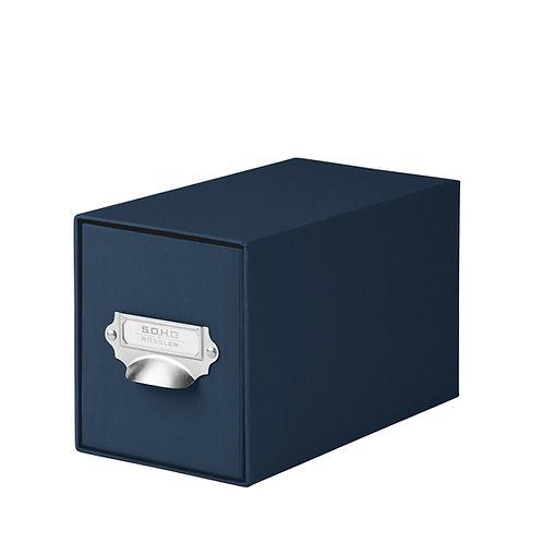 Rössler S.O.H.O. CD-Schubladenbox mit Griff Navy