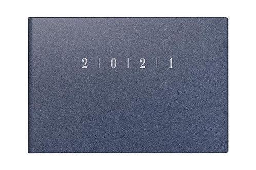 Rido Septimus 2022 15,2x10,2cm Modell 17563 - Kunststoff-Einband Reflection Blau