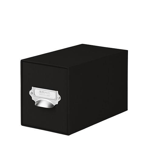 Rössler S.O.H.O. CD-Schubladenbox mit Griff Schwarz