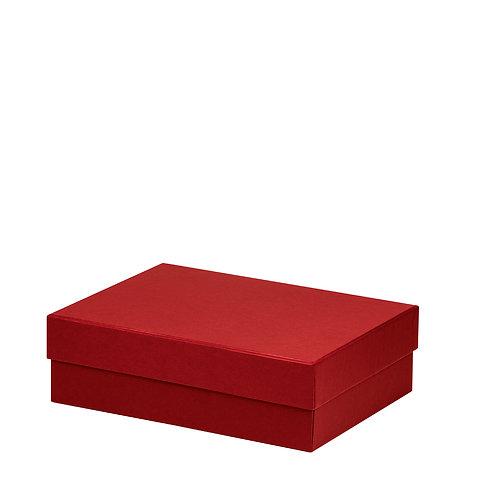 Rössler S.O.H.O. Boxline Kartonage rechteckig 196x264x80mm Rot 3er Satz
