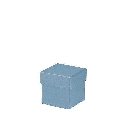 Rössler S.O.H.O. Boxline Kartonage quadratisch 65x65x65mm Denim 4er Satz