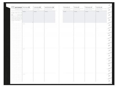 Quo Vadis Plan Week 2022 16x24cm - Kalender-Einlage